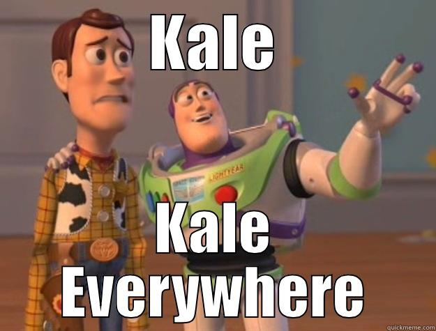 Detox after vacation - KALE KALE EVERYWHERE Toy Story