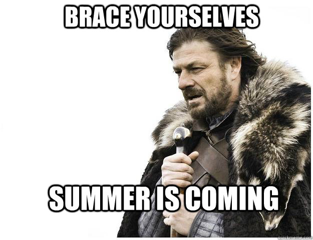 Brace yourselves Summer is coming - Brace yourselves Summer is coming  Imminent Ned