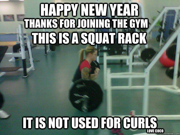 new year gym