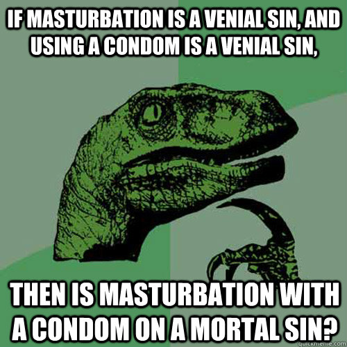 Did masturbation and venial sin
