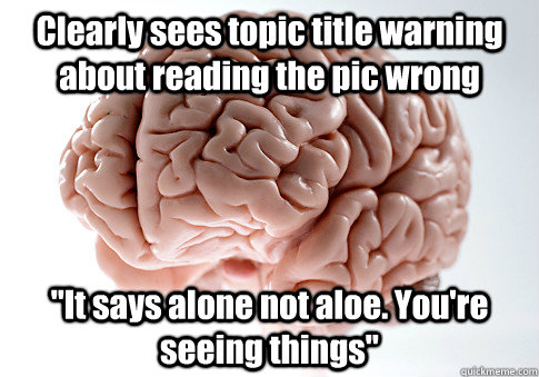Clearly sees topic title warning about reading the pic wrong