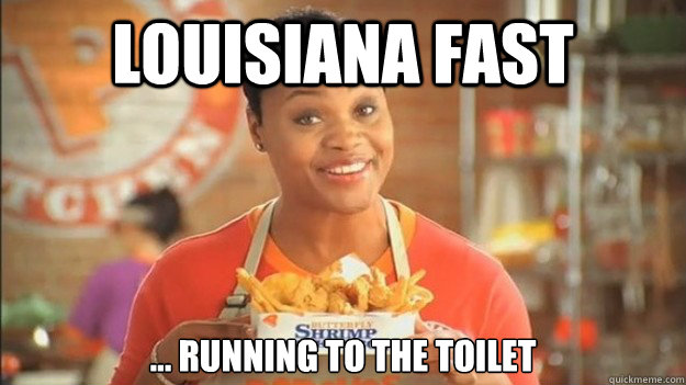 257bf49a243e1531f91a28d51558bcac13e3cb962ebd1c02b2c540a34cab1270 louisiana fast running to the toilet popeyes woman quickmeme