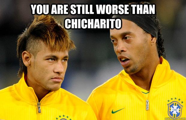 Chicharito vs neymar