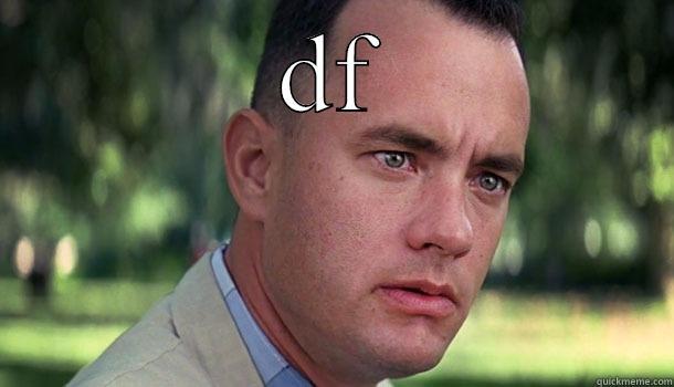 DF  Offensive Forrest Gump