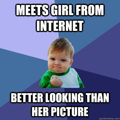 Meets girl from internet Better looking than her picture - Meets girl from internet Better looking than her picture  Misc