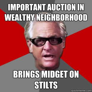 Important Auction in wealthy neighborhood Brings Midget on Stilts - Important Auction in wealthy neighborhood Brings Midget on Stilts  Storage Wars