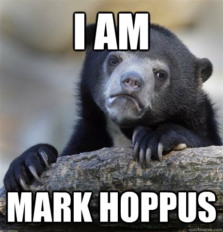I Am Mark Hoppus - I Am Mark Hoppus  Confession Bear