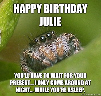 happy birthday julie meme