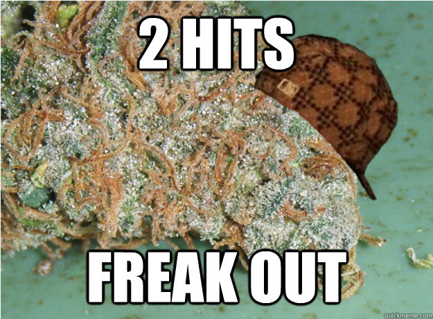 2 hits freak out