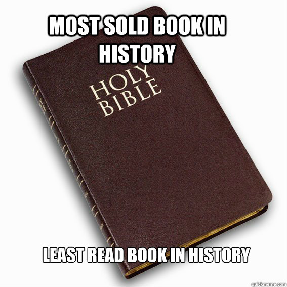 Most sold book in history Least Read Book in History