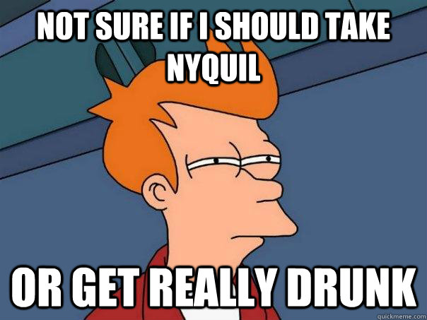 can you get drunk off nyquil