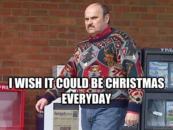 Christmas Sweater Guy memes | quickmeme
