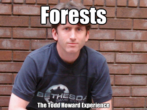 Forests The Todd Howard Experience   Todd Howard