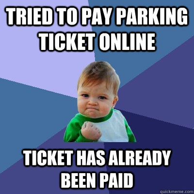 how to find parking tickets online