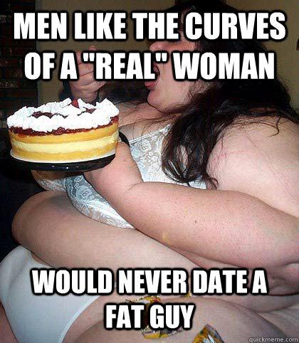 girls dating fat guys