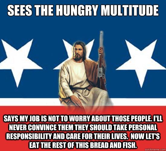 Republican Jesus memes   quickmeme