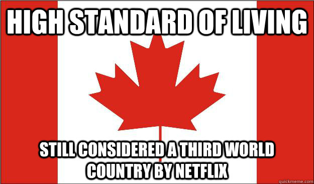 high standard of living still considered a third world country by netflix