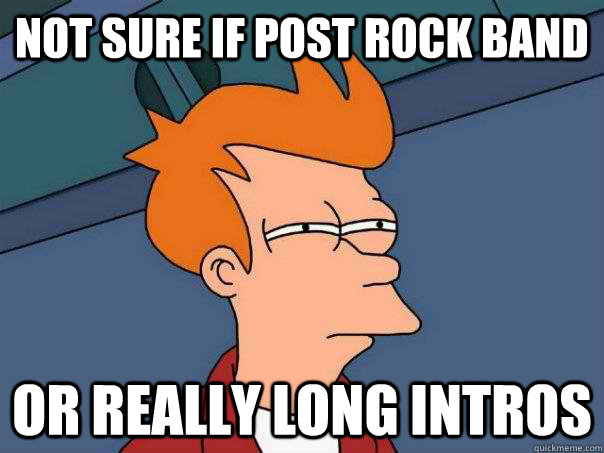 Image result for post rock meme