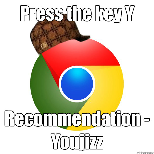 Press the key Y Recommendation - Youjizz