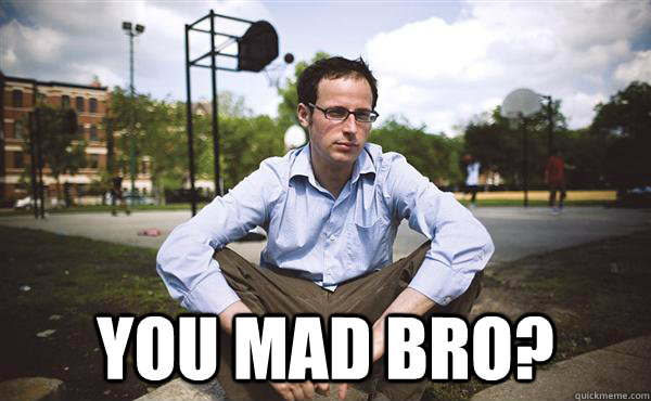 You MAD BRO?  Nate Silver