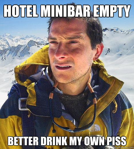 Bear Grylls Mini Bar