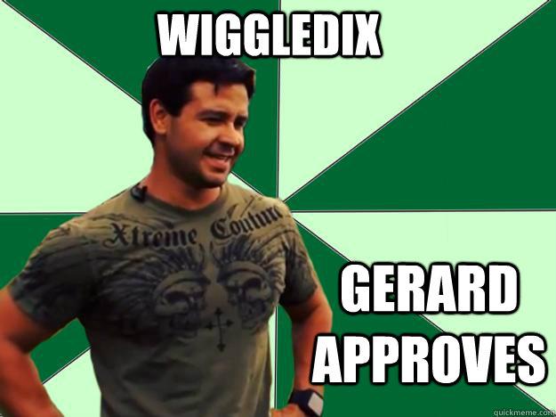 WIGGLEDIX GERARD APPROVES