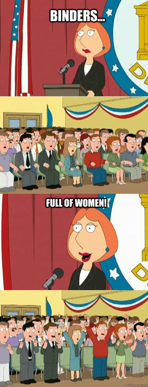 Binders... full of women!