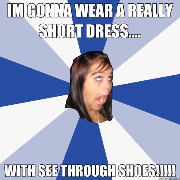 Long dress or short dress meme
