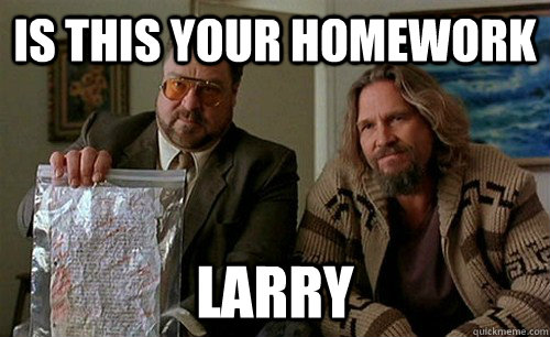Is this your homework larry