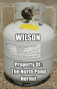 WILSON Property Of : The North Pond Hermit
