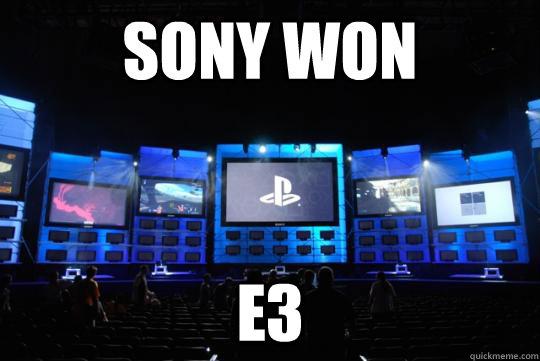 Sony won  e3 - Sony won  e3  Misc