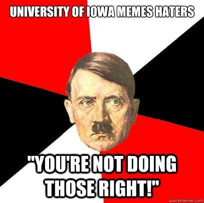 University of Iowa Memes haters