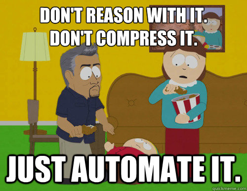 Don't reason with it. Don't compress it. Just automate it. - Don't reason with it. Don't compress it. Just automate it.  Bass Guitar Mixing