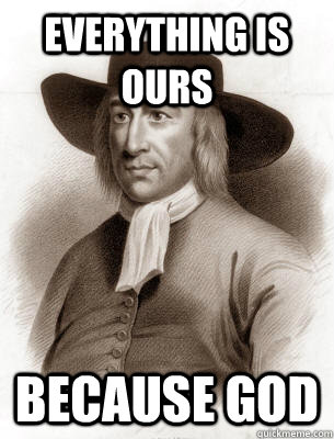 Everything is ours Because GOd - Everything is ours Because GOd  colonist logic