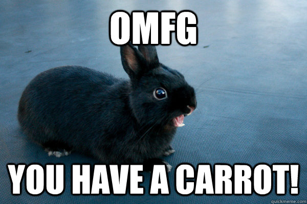 OMFG You Have A Carrot!