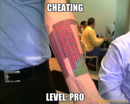 Cheating level: pro  Cheating