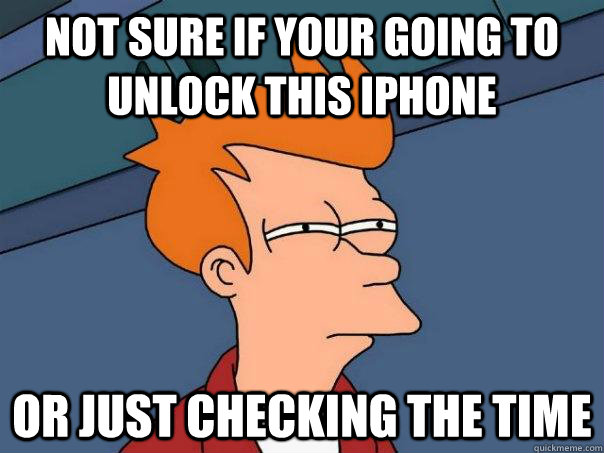 how to know if iphone unlocked or not
