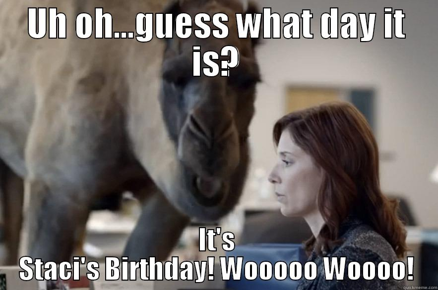 uh oh Guess What Day it is Birthday uh oh uh oh Guess What Day it is it 39 s