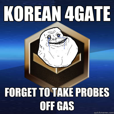 korean 4gate forget to take probes off gas