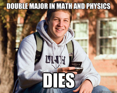 Double major in math and physics dies double major in math and