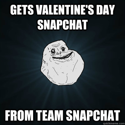 Gets Valentine's day Snapchat From Team Snapchat