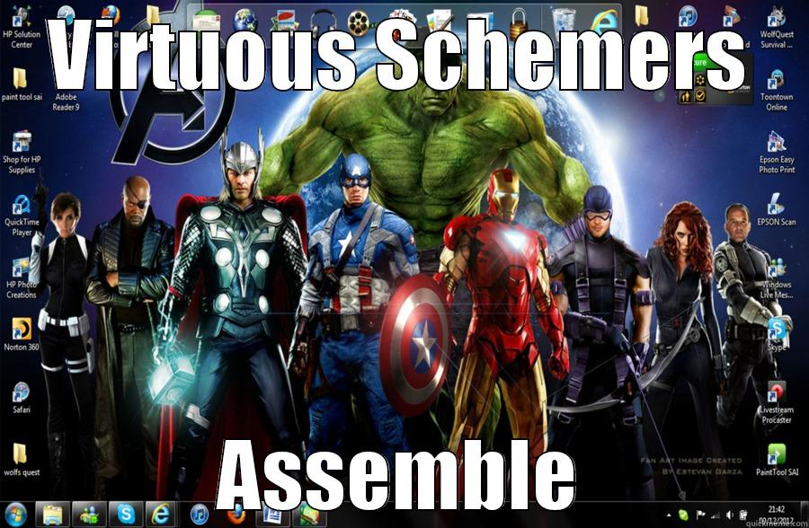 #WeAreOpen to Superheroes - VIRTUOUS SCHEMERS ASSEMBLE Misc