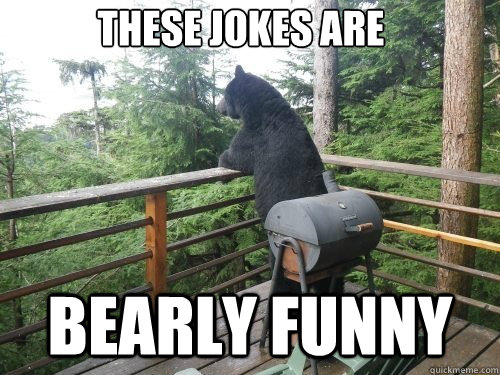 These jokes are Bearly funny - These jokes are Bearly funny  Misc
