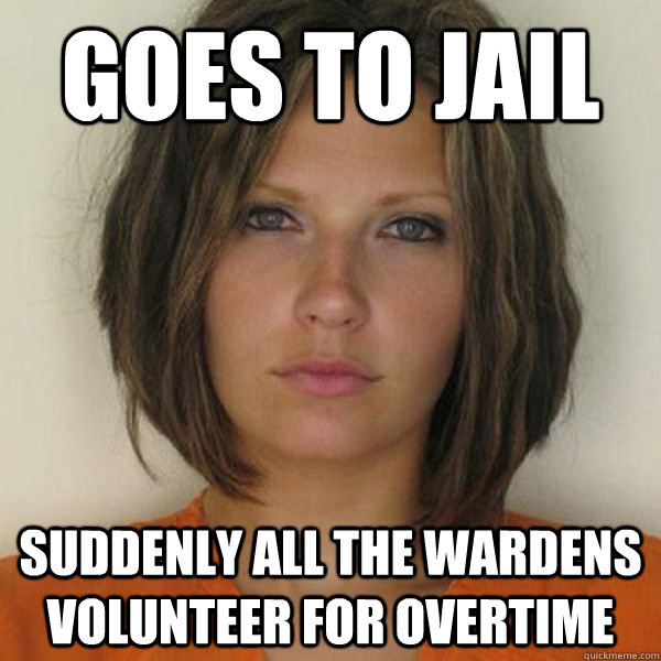 goes to jail suddenly all the wardens volunteer for overtime - goes to jail suddenly all the wardens volunteer for overtime  Attractive Convict