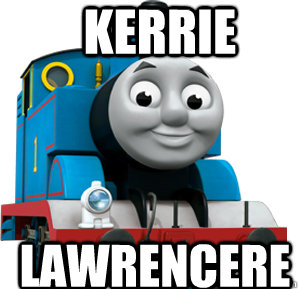 kerrie lawrencere -  kerrie lawrencere  Thomas the Train Engine
