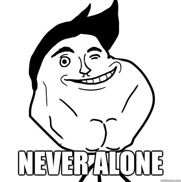¿Te sientes solo?