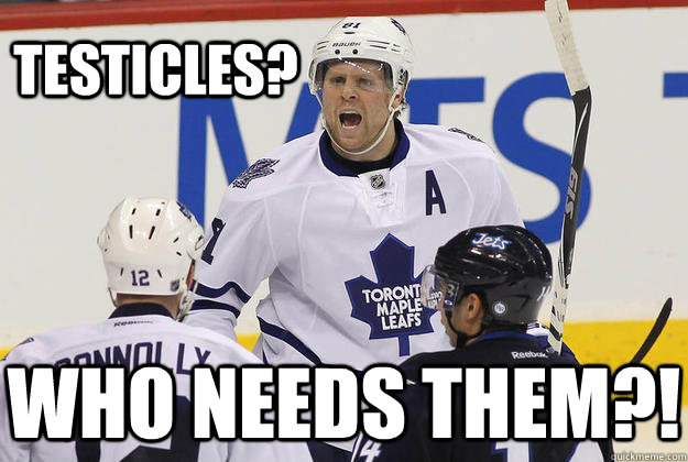 Testicles? who needs them?! - Testicles? who needs them?!  Testicular Cancer Survivor Phil Kessel