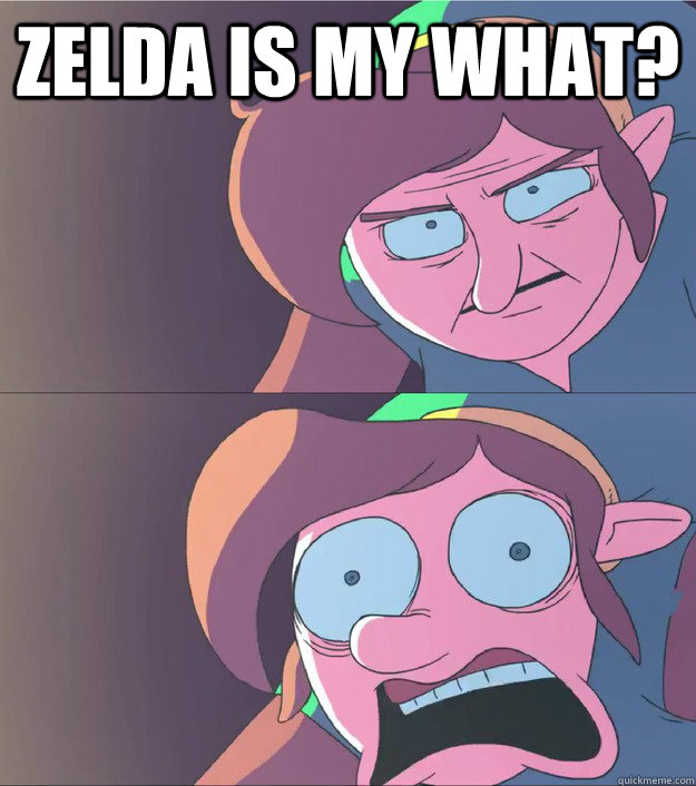 Zelda is my what?