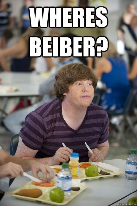wheres beiber?