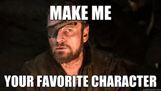 Make Me Your favorite Character - Make Me Your favorite Character  Beric